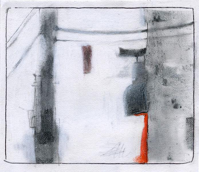 Alleyway. (5x4)