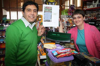 Barnesville Man Wins 1 Million Dollars, The Brown Bag, Barnesville (1-18-2012)