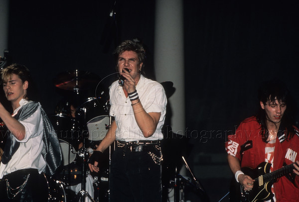 Duran Duran photographed © Laurie Paladino.