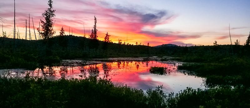 Sunsets, sunrises