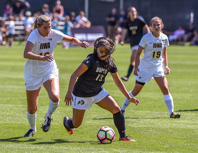 NCAA Women's Soccer - CU vs Iowa - 20160911