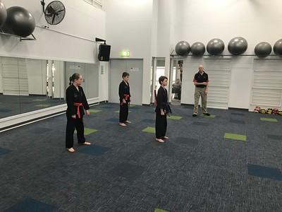 Combat Self Defence Kata Course November 2017