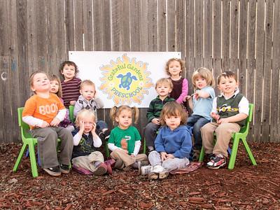 Grateful Gardens Preschool Class Picture
