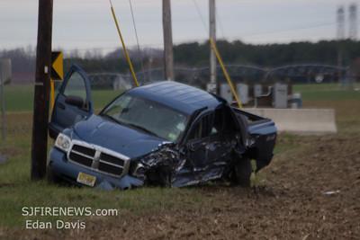 12/11/2012, MVC, Upper Pittsgrove Twp. Salem County, Rt. 77