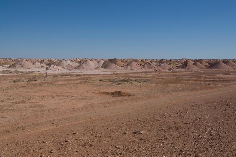 Mine Piles 4 - Coober Pedy, South Australia