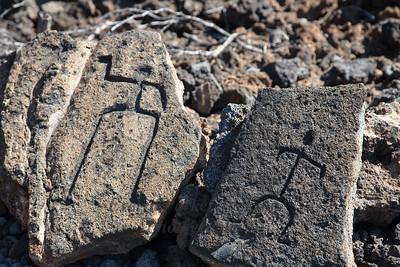 Hawaii Island Petroglyphs