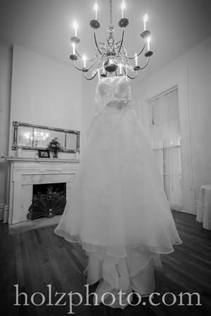 Kristi & Shawn B/W Wedding Photos