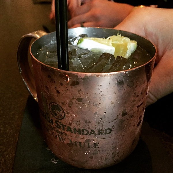 In California, it's always the right temperature for a #MoscowMule