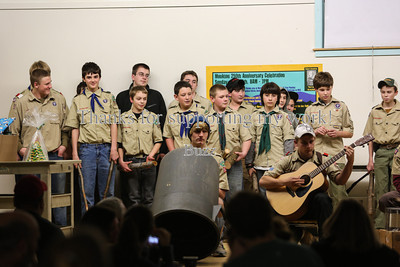 Scout Dinner & Awards - 12-20-2012
