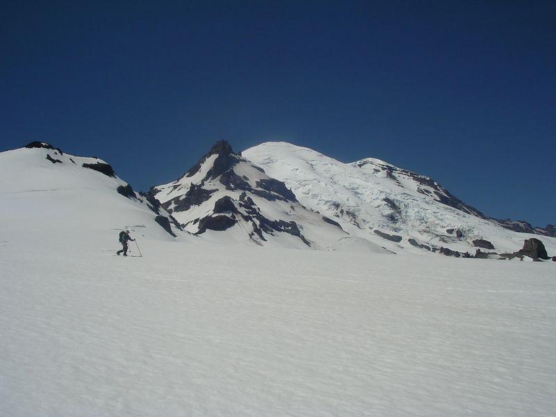 Mt. Tahoma and Mt. Rainier behind.