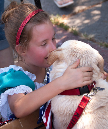 Rescue For Pet Sake 4th July Parade 2012