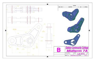 AutoCad - Mechanical drawings