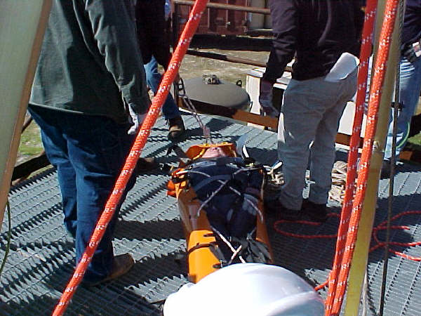 Jonesboro La. Smurfit Stone Container; Confined Space Rescue