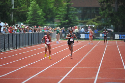 Women's 4x100 Final Gallery 2 - 2015 Big Ten Outdoor