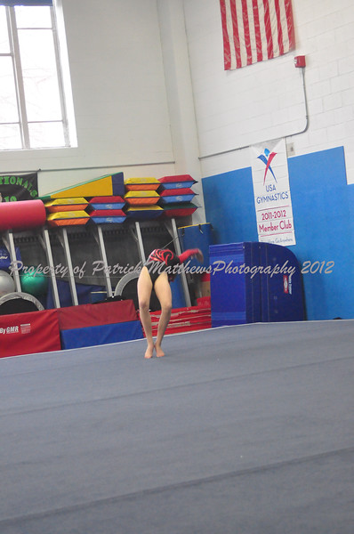 Southington YMCA GYmnastics 2-11-12