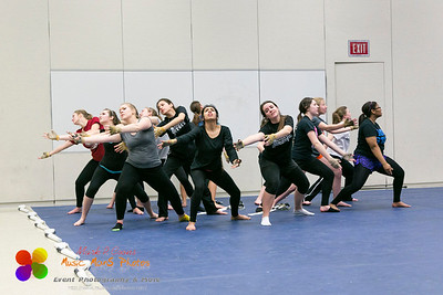 Normal Community Images winter guard rehearsal 03/06/2014