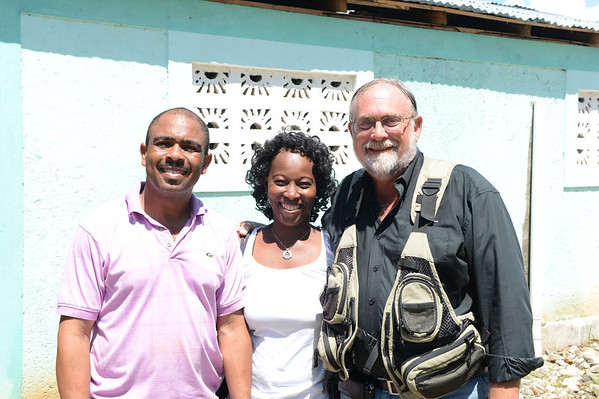 2012-08 Tim in Haiti - Haiti Church Leaders