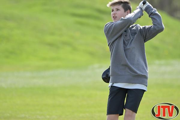Golf JV Tournament at Cascades Golf Course 04-19-2021