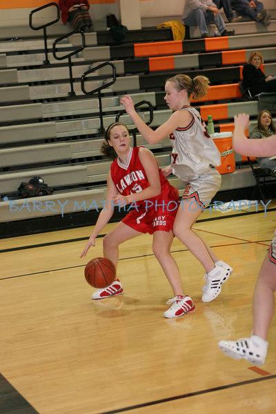 Lawson vs Platte County Freshmen Girls 07