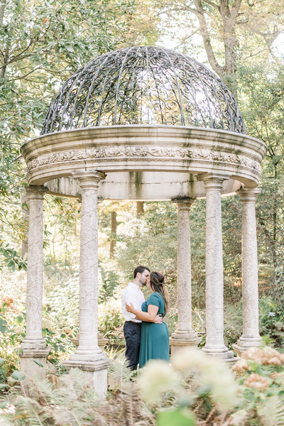 Elizabeth and Michael's Engagement at Longwood Gardens