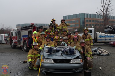 2016 - Vehicle Extrication Training January 9, 2016