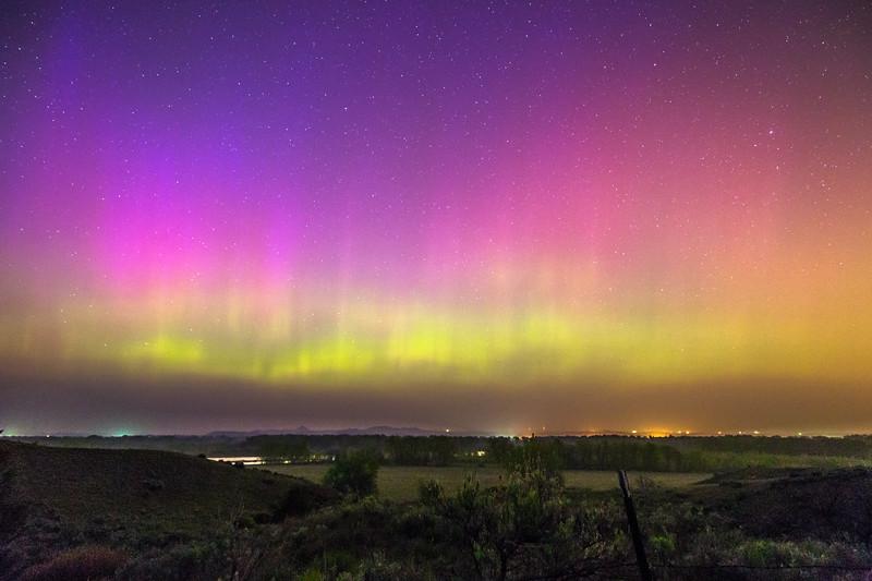 Northern Lights in Rosebud Co