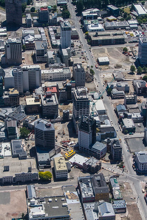 Christchurch after the quake