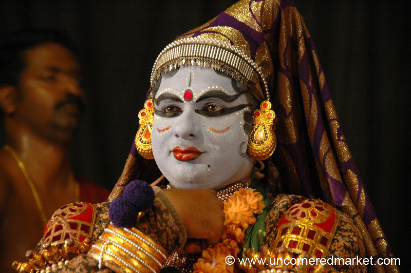 Humorous Kathakali Role - Kochi, India