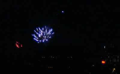 New years eve fireworks 2006