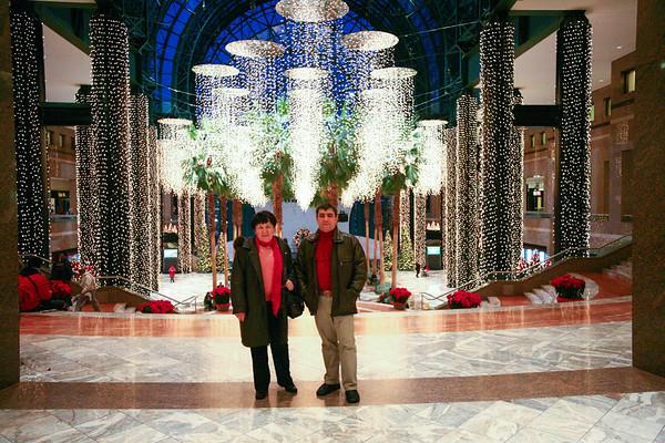 Viorel & Magda in New York December 2008