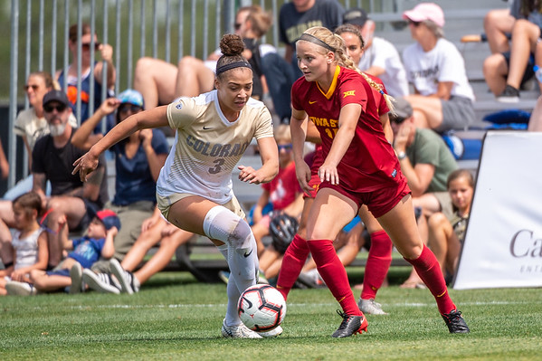 NCAA - Women's Soccer - CU vs Iowa State - 2018-09-02