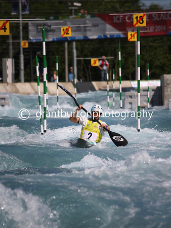ICF Canoe Slalom World Cup - London - W1 & C2 Semi-finals