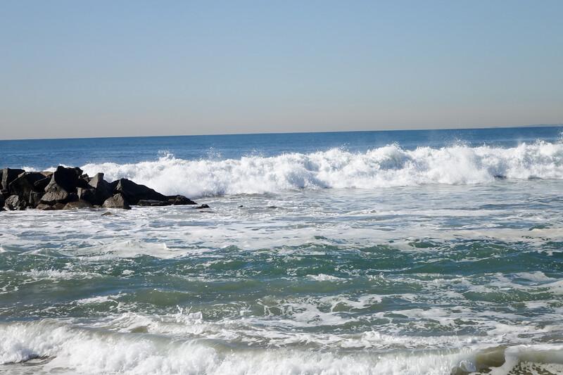The oceans of Venice Beach