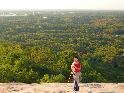 Stone Mountain Climb - Nov. 3, 2007