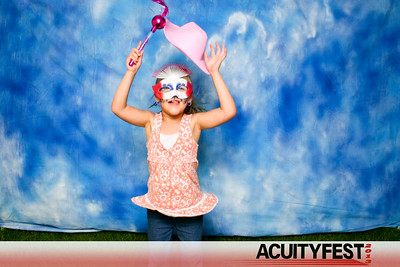 ACUITYFEST Photo Booth with Banner