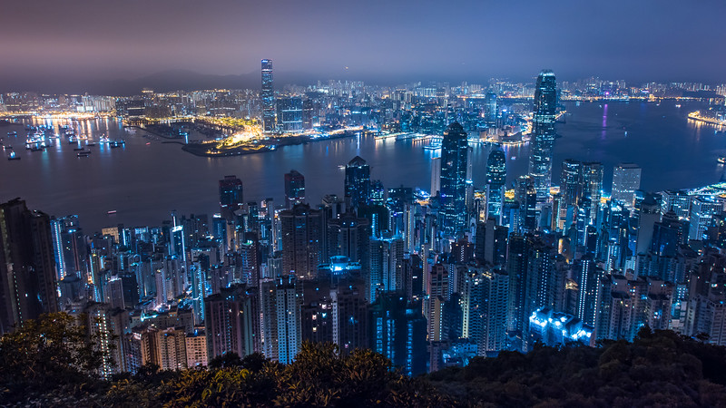 Best Hong Kong Photography Spots - Victoria Peak