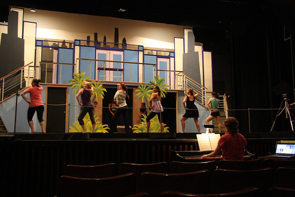 How to Succeed final run-throughs July 10-13