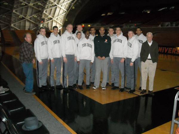 PG basketball goes to Princeton