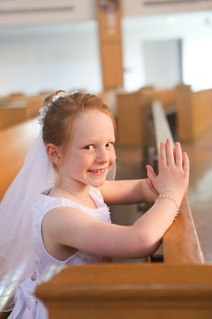 Emma's First Communion