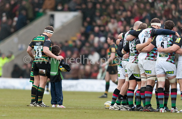 Northampton Saints vs Harlequins, Aviva Premiership, Franklin's Gardens, 1 January 2011