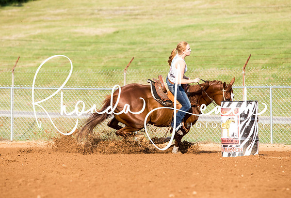 Clinton Fair 7-22-17 Youth Barrel Race
