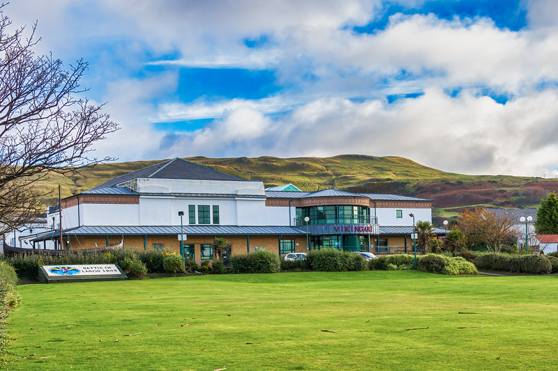 The Vikingar Leisure Centre situated on the North End of the Town of Largs in Scotland.