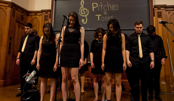 Pitches and Tones Spring 2017 Concert