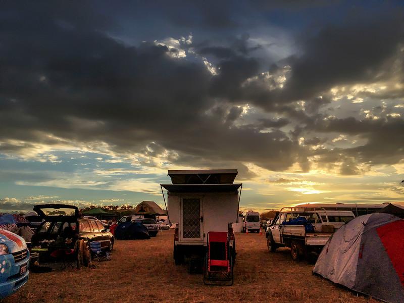 Blazing Swan 2017-Campsite #2