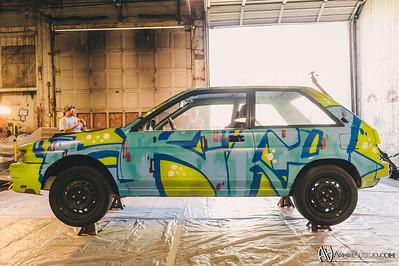 Kito's Toyota Tercel Rally-X Car