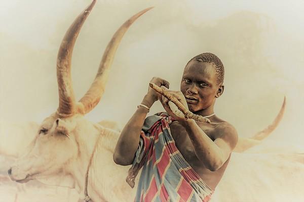 Campamento Mundari  -  Sudan del Sur 2020