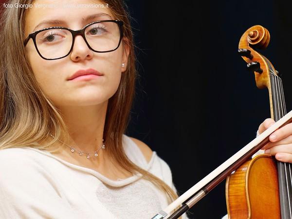 Luigi Martinale Quintet con Classwing Ensemble, 19 ottobre 2019, Teatro Sociale, Pinerolo