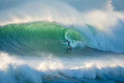 David Latestere charge la Nord @ Hossegor