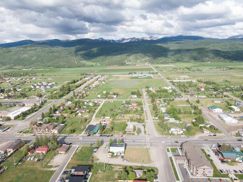 Victor, Idaho Aerials