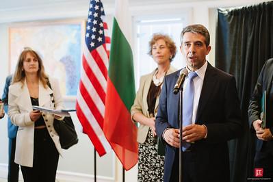 the Pacific Institute - President of Bulgaria Visit